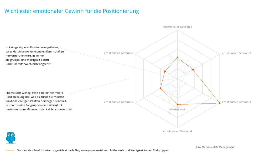 Auswertung Positionierung: das einzigartige Wertversprechen - der differenzierende Wert - Unique Value Proposition (UVP)