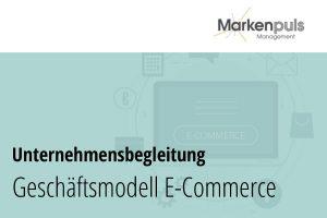 Geschäftsmodell E-Commerce, Online-Shop, digitaler Verkauf Beratung, Umsetzung und Begleitung